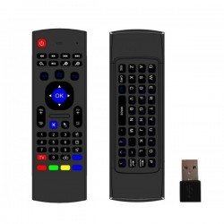 Télécommande sans fil Mini clavier 2.4 Ghz Fly Air Mouse pour Android, TV Box, Mini PC, SmartTv