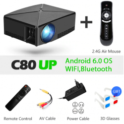 AUN MINI projecteur C80 UP,